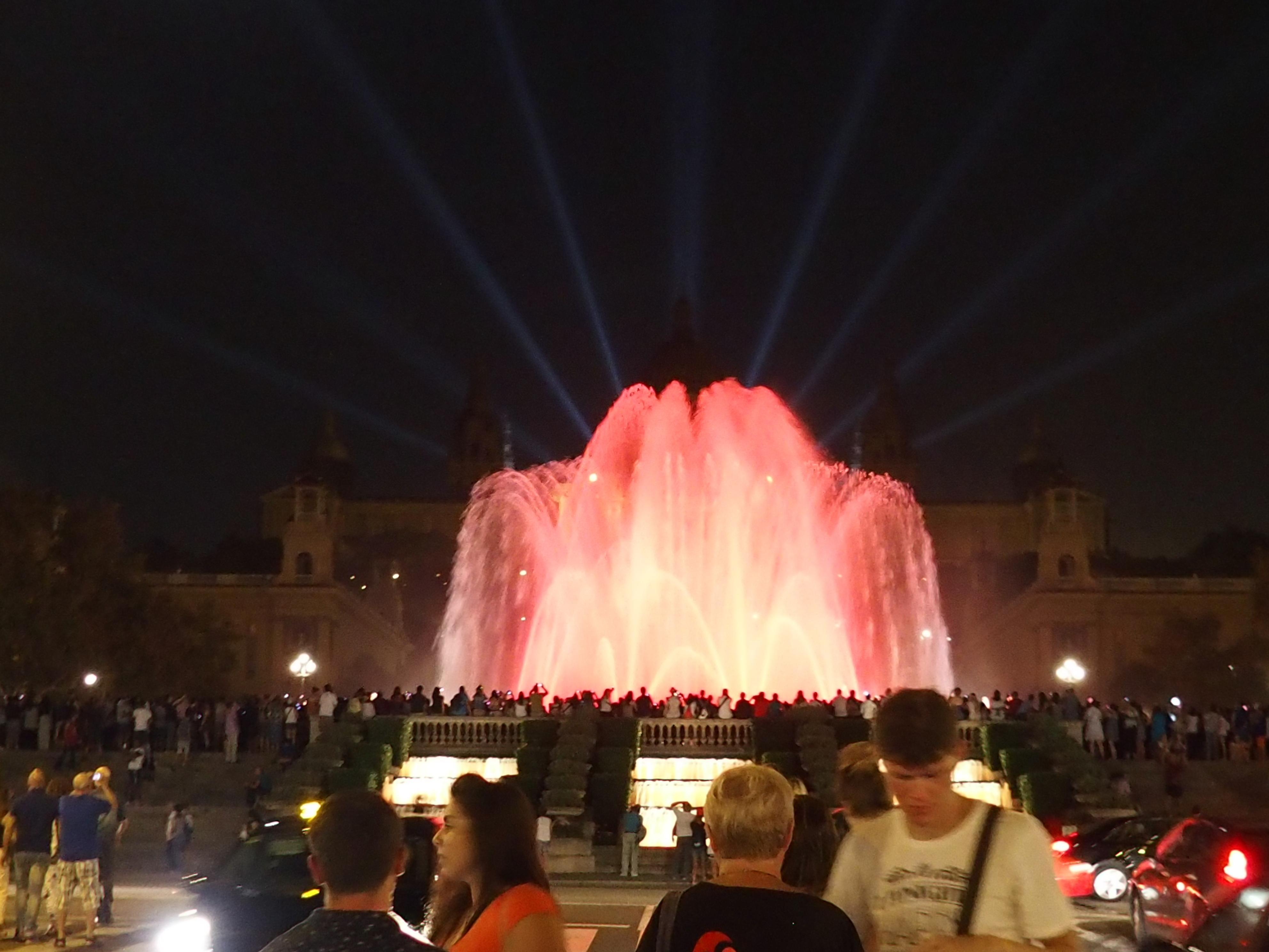 Ekskurzija Španjolska 2014. – Fontane u Barceloni